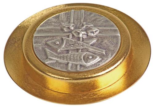 K661 Paten Pyx | 24K Gold-Plated | Holds 35 Hosts