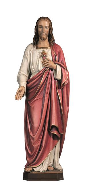 #100/45 Sacred Heart Of Jesus Statue | Handmade In Italy
