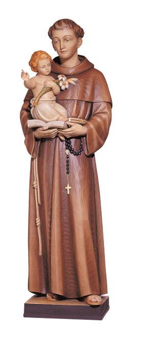 #347 St. Anthony with Child Statue | Handmade In Italy