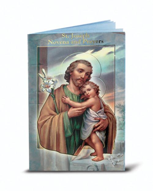 St. Joseph Novena and Prayers Booklet