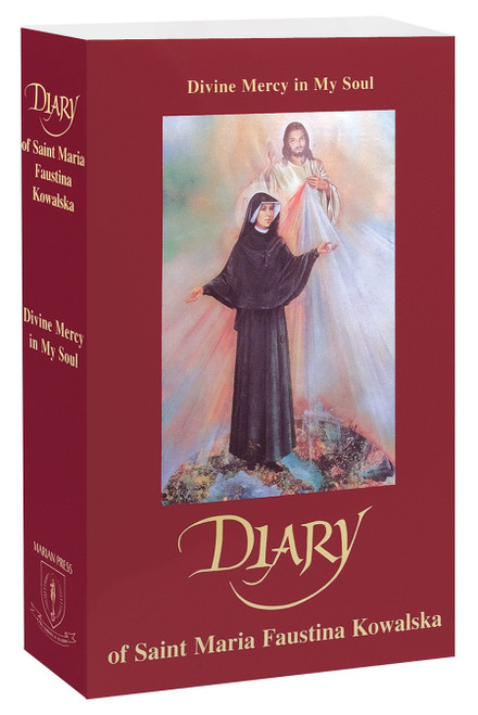 Divine Mercy in My Soul: Diary of Saint Maria Faustina Kowalska | Paperback | Compact Size