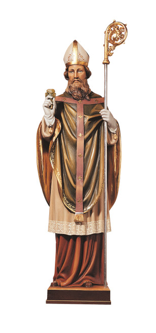 #567/A St. Patrick Statue | Handmade In Italy