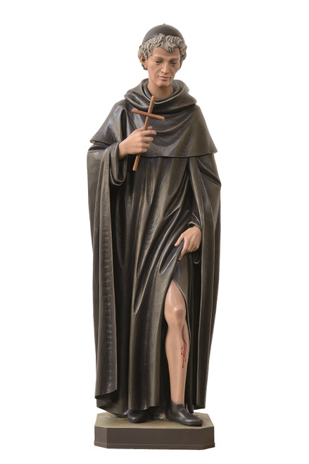 #600/57 St. Peregrine Statue | Handmade In Italy