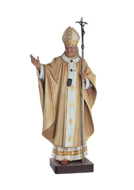 #600/129 St. John Paul II Pope Statue | Handmade In Italy