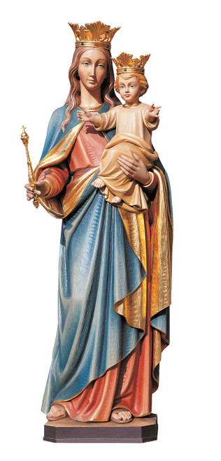 #669 Queen of Heaven Statue | Handmade In Italy