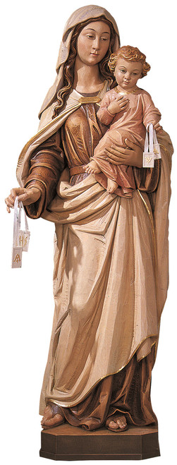 #700/103 Our Lady of Mount Carmel Statue | Handmade In Italy