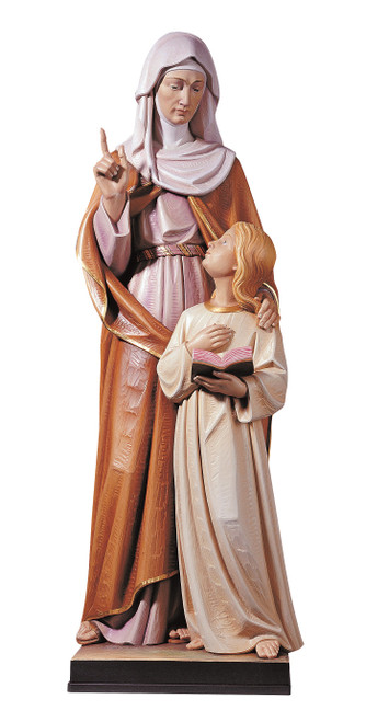 #817 St. Anne Statue | Handmade In Italy