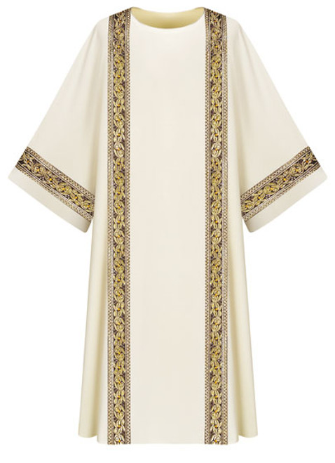 #3219 Gold Embroidered Dalmatic | 100% Wool | All Colors