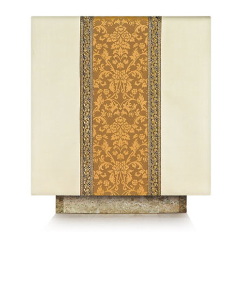 #3219 Gold Embroidered Altar Cover | Wool/Trevira | All Colors