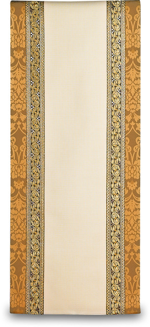 #3219 Gold Embroidered Lectern Cover | Wool/Trevira | All Colors