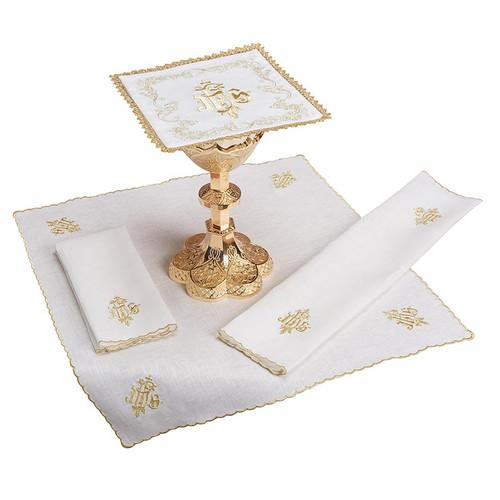IHS Altar Linen Set | 100% Linen