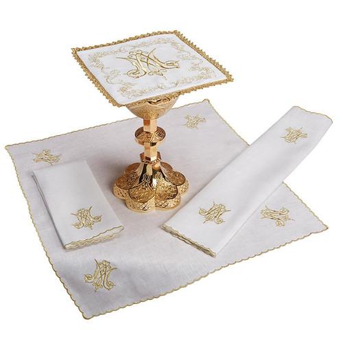 Marian Altar Linen Set | 100% Linen