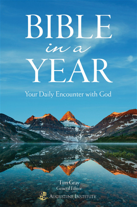 Bible in a Year: Your Daily Encounter with God | Paperback
