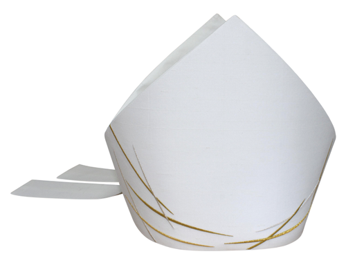 #5285 Our Lady of Fatima Mitre | Silk/Poly | All Colors