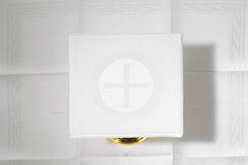 Embroidered Host Altar Linen Set | 100% Linen
