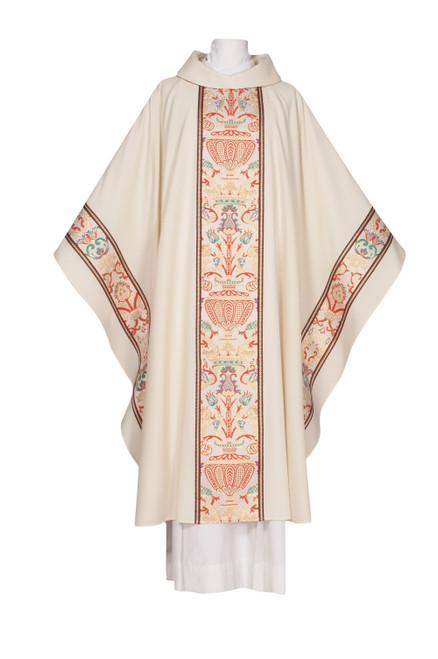 #4911 Venezia Coronation Celebrants Chasuble | Roll Collar | Multiple Fabrics | All Colors