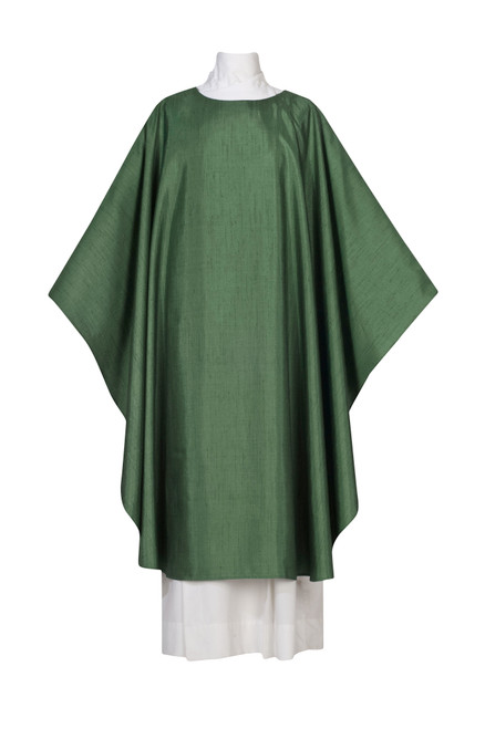 #0685 Damien Plain Chasuble | Plain Collar | Poly/Silk | All Colors
