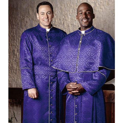 #H-57 Piped Cassock | Multiple Fits Available