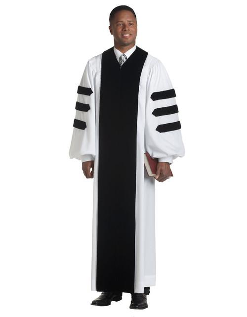 #H-116 Velvet Geneva Robe | Multiple Fits Available