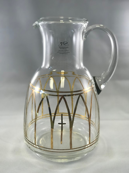 "11"" Stadelmaier Hand-Painted Pitcher 