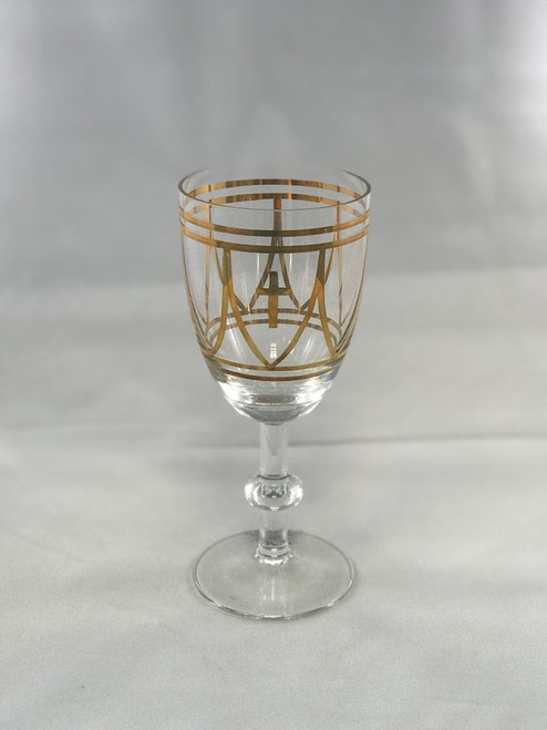 "7-3/4"" Stadelmaier Hand-Painted Chalice 