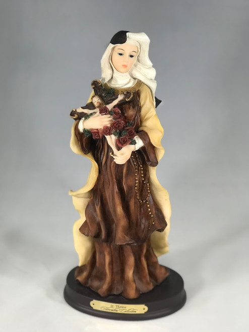 "11.5"" St. Therese of Lisieux Statue 