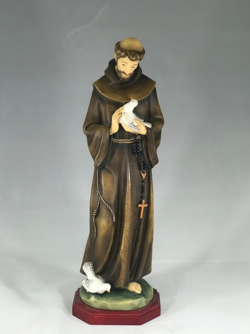 "12"" St. Francis Statue 