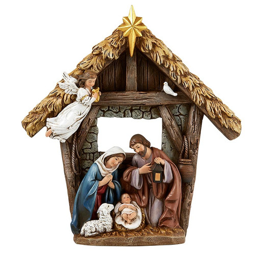 "9"" Nativity Figure | Resin"