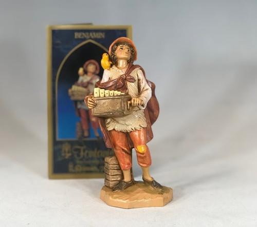 "Benjamin | 5"" Scale | Fontanini Italian Nativity | Retired"
