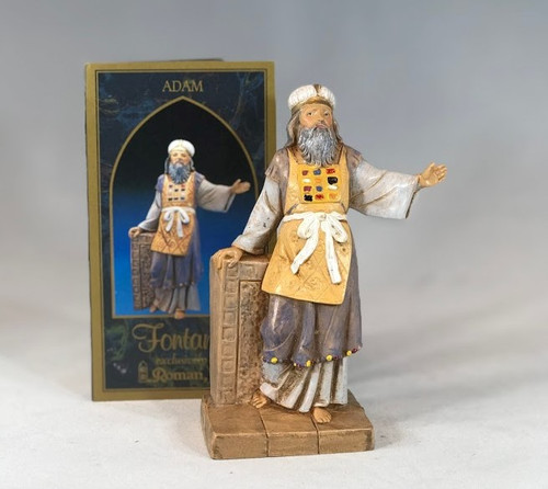 "Adam | 5"" Scale | Fontanini Italian Nativity | Retired"