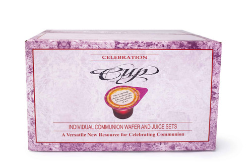 Celebration Cup - Prefilled Communion Cups | Box of 500