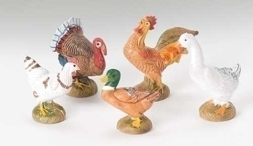 "Bethlehem Birds - 5 Piece Set | 5"" Scale 