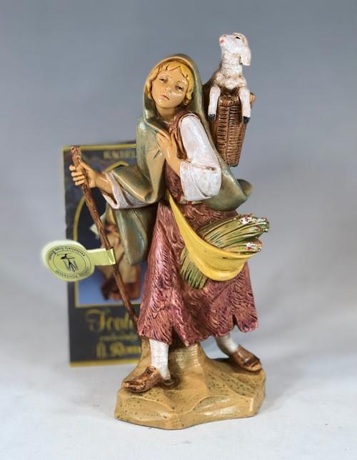 "Miriam | 7.5"" Scale | Fontanini Italian Nativity | Retired"