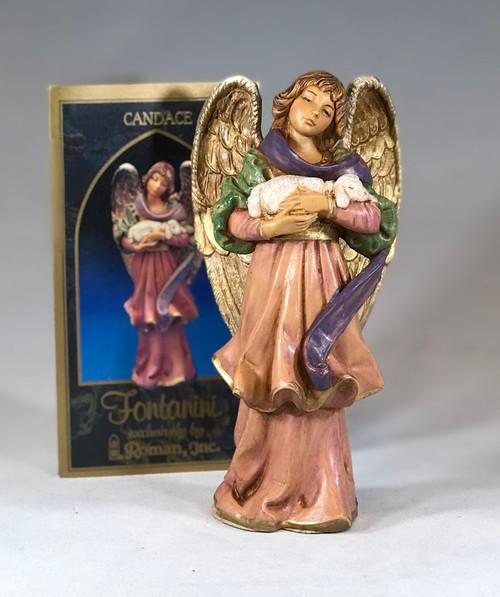 "Candace Angel | 1998 Collector's Club Figure |  5"" Scale | Fontanini Italian Nativity | Retired"