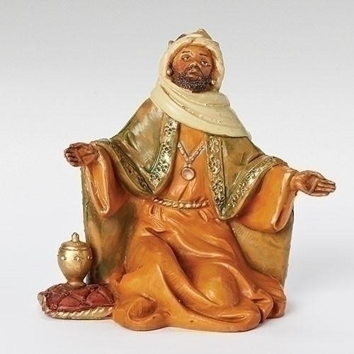 "Balthazar | 5"" Scale | Fontanini Italian Nativity"