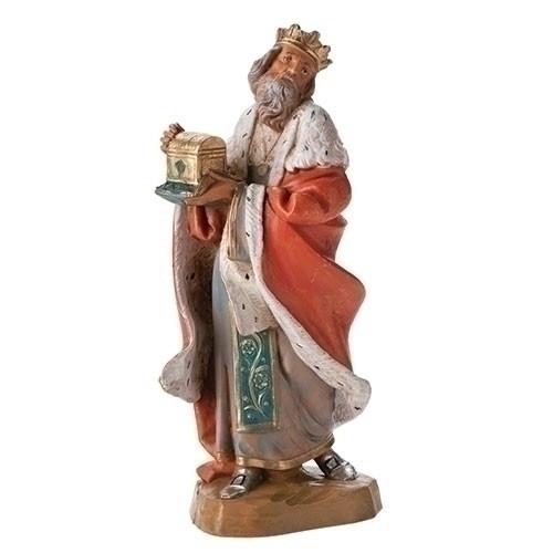 "King Melchior | 7.5"" Scale | Fontanini Italian Nativity"