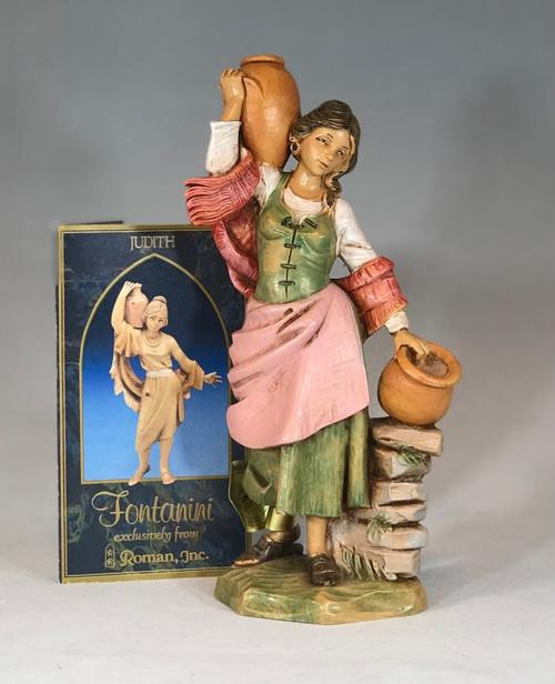 "Judith | 7.5"" Scale | Fontanini Italian Nativity | Retired"