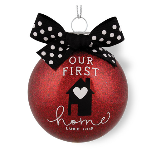 """4"""" Our First Home Christmas Ornament 