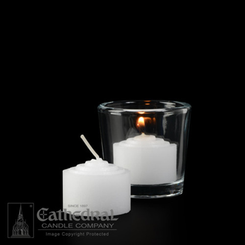 6 Hour Straight Side Votive Lights | Box of 144 Candles