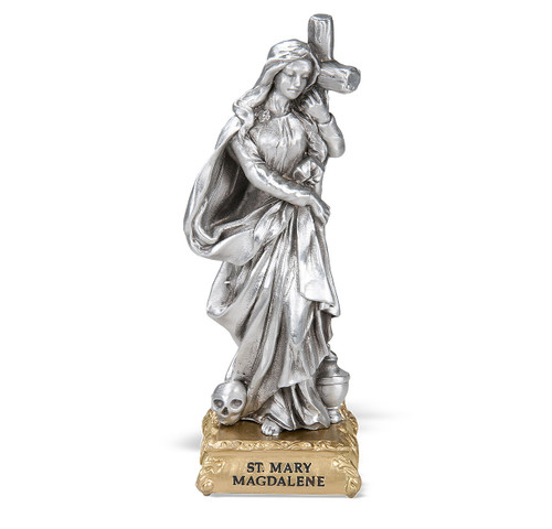St. Mary Magdalene Pewter Statue