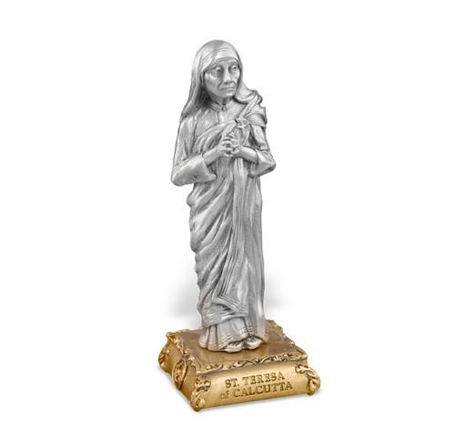 St. Teresa of Calcutta Pewter Statue