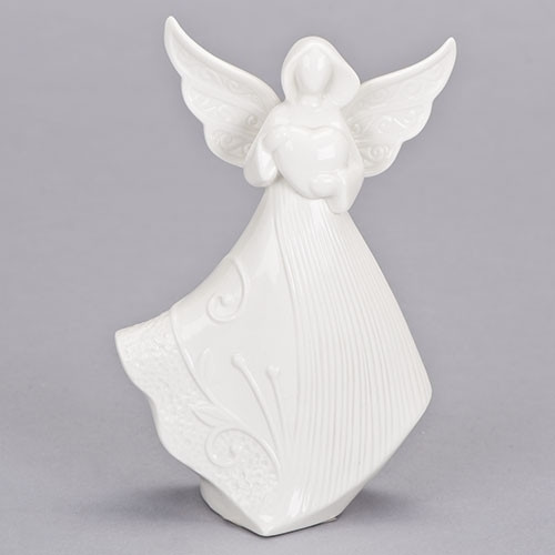 "6.75"" Angel with Heart 