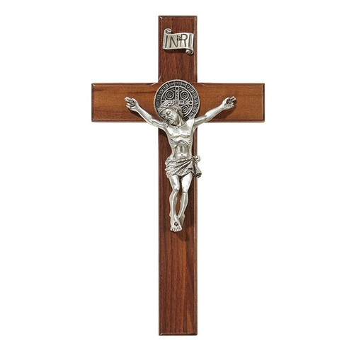 "8"" Saint Benedict Crucifix 