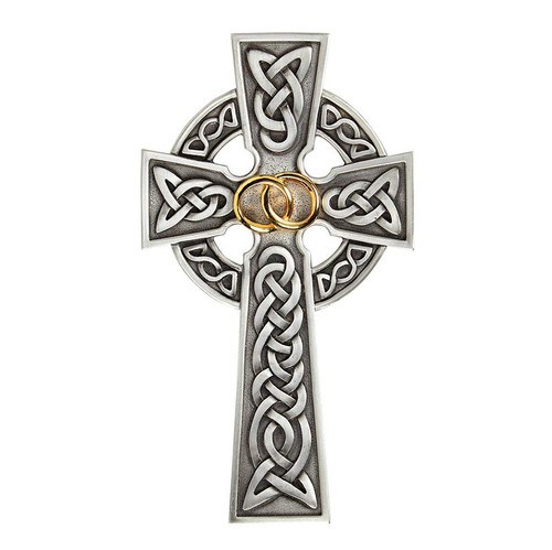 "8"" Claddagh Celtic Cross"