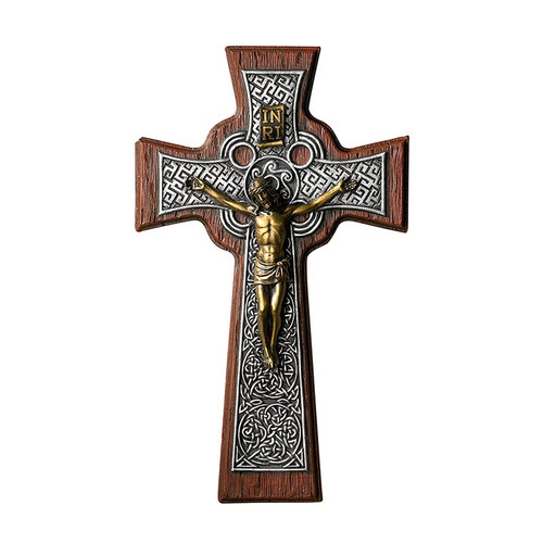 "10"" Celtic Crucifix 
