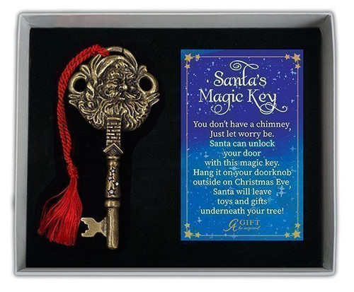 Santa's Magic Key Ornament