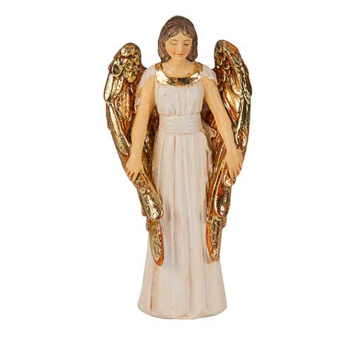 "4"" Guardian Angel Resin Statue"