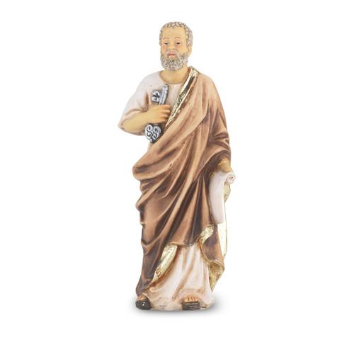 "4"" Saint Peter the Apostle Resin Statue"