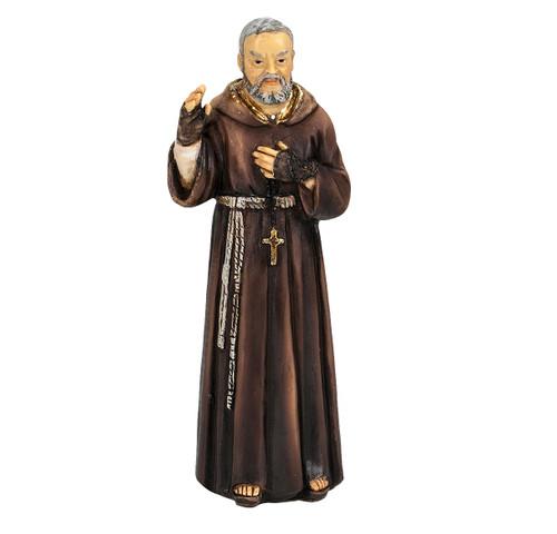 """4"""" Saint Pio Resin Statue"""