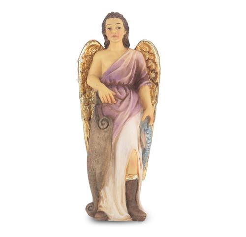 "4"" Saint Raphael the Archangel Resin Statue"